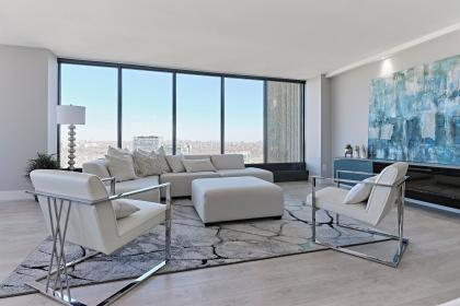 Cibel Sectional & South Park Accent Chairs