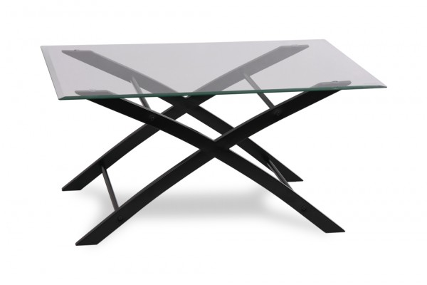 Criss-Cross Cocktail Table