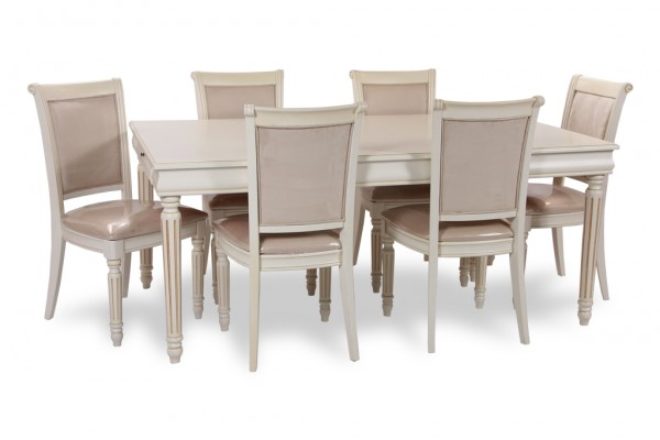 Toronto home staging rent preston dining set dts26 for Furniture rental home staging toronto