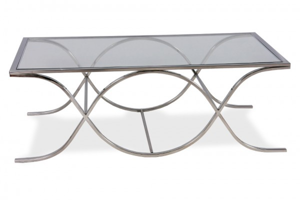 Luxor Coffee Table Silver