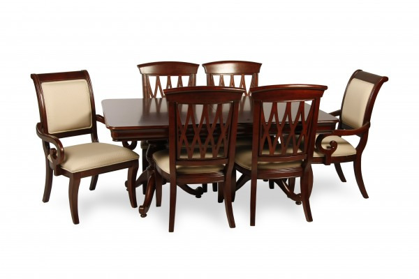 Toronto Home Staging Rent Avignon Dining Set 7 Pcs Dts15 Dcs15 Das15 For Toronto Home