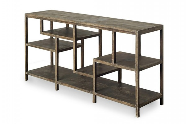 Gastown Console/Shelving Unit