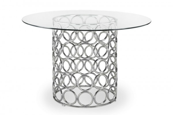 55 Inch Circles Dining Table