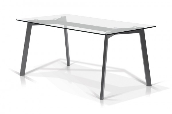 35x63 Chandra Dining Table (Grey)