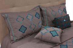 Soho Blue Queen Bedding Set