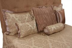 Beige Damask King Set