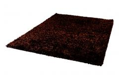 5x8 Dark Brown Shag Rug