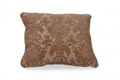18x18 Damask Decorative Pillow