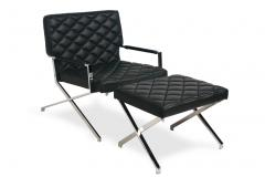 Victor Chair and Ottoman