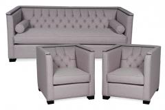 Grey Fitzgerald Sofa Set