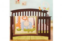 Jungle Jubilee Crib Bedding