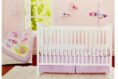 Floral Flutter Crib Bedding