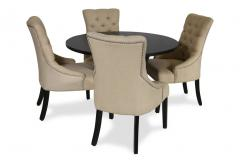 Tulip Dining Table & Lyons Chairs