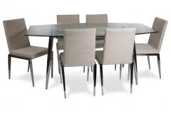 Leo Dining Table & Oreo Chairs