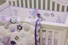 Lovebirds Crib Bedding