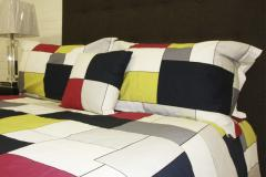Vitrage Double Bedding Set