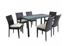7 Pcs Tribeca Outdoor Dining Set