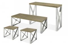 Rustique Coffee Table Set