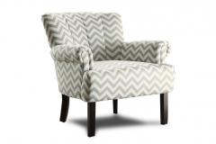Zig-Zag Accent Chair