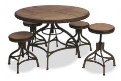 Shaft Adjustable Dining Set