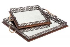 Decorative Tray (Set of 2)