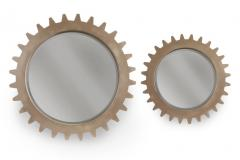 Cogwheel Mirror Set
