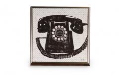 13x13 Antique Phone