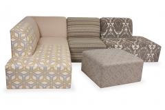 Patchwork Sectional Sofa