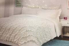 Ruffle Double Bedding Set