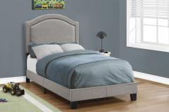Elsa Grey Twin Bed