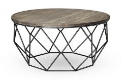 37 DIA  Acacia Coffee Table