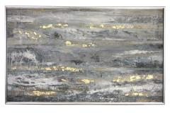 30x60 Golden Abstract