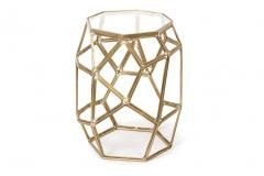 Hexagon Accent Table