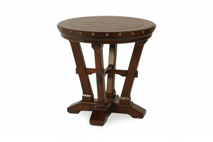 Ivanhoe Round End Table