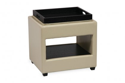 City End Table/Ottoman