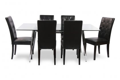 Leo table & Michigan chairs