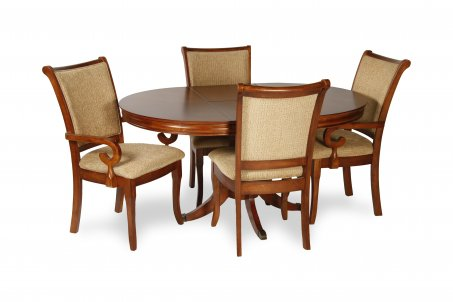 Bergamo Dining Set (5 Pcs)