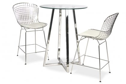 Dallas & Bertoia Bar Set