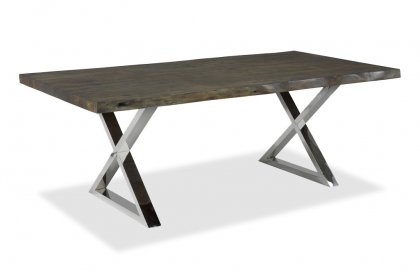 84 inch Acacia Dining Table