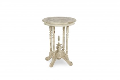 Folk Art Accent Table
